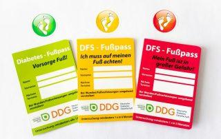"""Neuer """"Fuß-Pass"""" der DDG: Awareness-Kampagne gegen unnötige Amputationen beim diabetischen Fußsyndrom"""