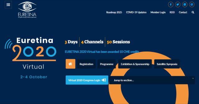 """""""EURETINA 2020 virtual"""" – erstmals online"""